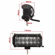 100 Truck Bra HoldCY Car LED Work Light 36W CREE Chip Flood Spot Beam For Jeep