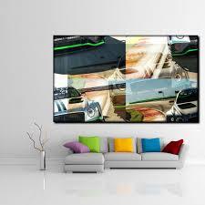 wandbild antik abstrakt modern wohnzimmer kunst 100x70cm
