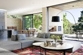 tropical living room design idea with grey accents sleeper sofa