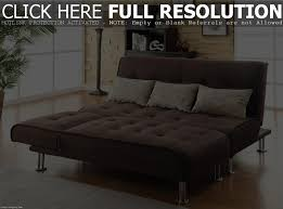 Walmartca Living Room Furniture by Mainstays Morgan Faux Leather Tufted Convertible Futon Brown Sofa
