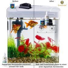 Petco Flower Ball Aquarium Decor by Amazon Com Glass Shelf For Aquarium By Sungrow Extra Level For