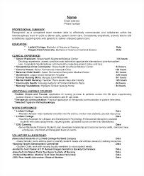 Hospice Nurse Resume Fast Lunchrock Co Sample Objective