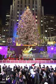 71st annual rockefeller center tree lighting ceremony