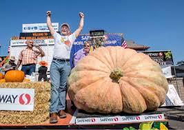 Pumpkin Fest Half Moon Bay by Giant Pumpkin Breaks Record In Half Moon Bay Weigh Off