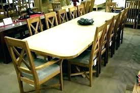 Long Dining Room Table For Large Seats Extendable