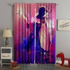 3d printed michael jackson style custom living room curtains