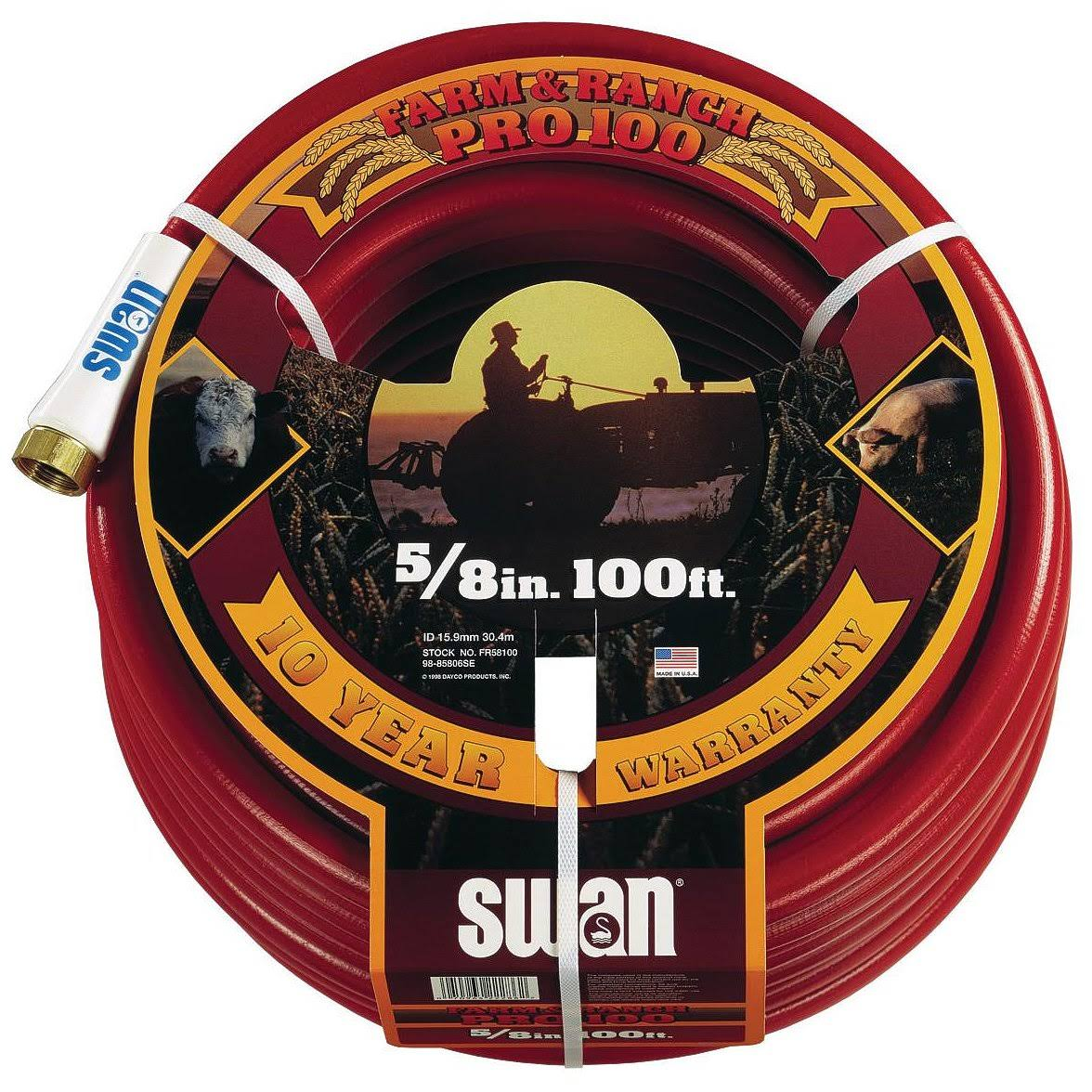 "Swan Element Contractor Farm Premium Duty Hose - 5/8""Dia x10'"