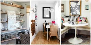 House Beautiful Dining Room For Small Spaces Candle Flower Ideal Drawers Spring Stylish Racks Tricks Making