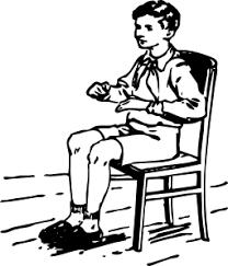 Chair Clip Art Black And White
