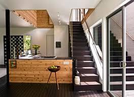 Dark Wood Flooring In The Kitchen
