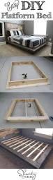 Make Your Own Platform Bed Storage by Best 25 Diy Platform Bed Ideas On Pinterest Diy Platform Bed