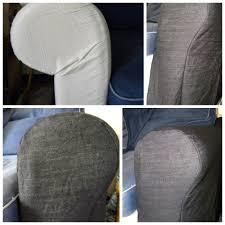 teindre un canap en tissu housse de canapé gécotoine et célestine