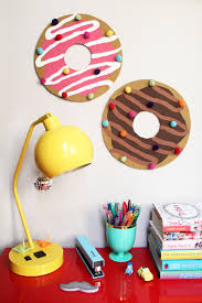 genius donut bulletin boards complete with sprinkle push pins