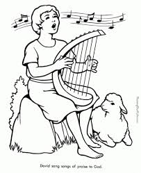 Source Educationalcoloringpages Bible Coloring Pages With Regard To Story Encourage In Picture