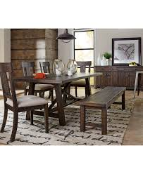 Macys Round Dining Room Table by Ember 6 Piece Dining Room Furniture Set Created For Macy U0027s