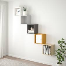 eket wall mounted storage combination multicolor 1 ikea