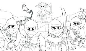 Lego Ninja Coloring Page Pages Jay Awesome Surprising 1