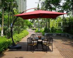 Offset Rectangular Patio Umbrellas by Fim Flexytwin Offset Patio Umbrella Base Weights With Wheels