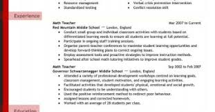 Teacher Resume Examples For Elementary School Top Kindergarten Sample India 2014 2017