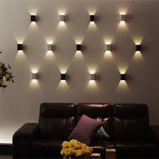 3w led wall light up and led light l walkway