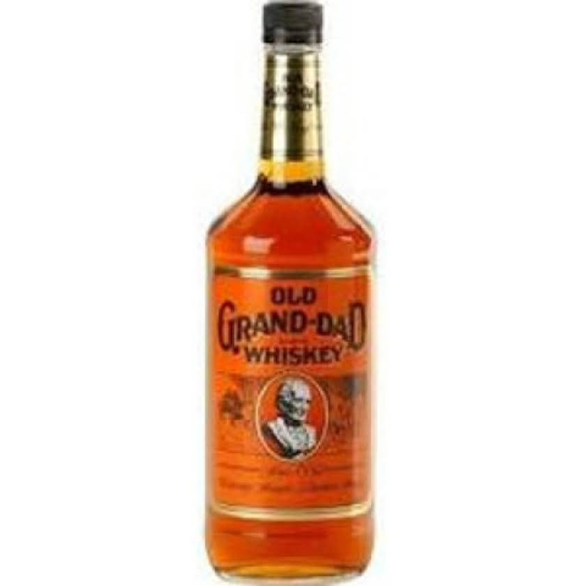Old Grand Dad Whiskey - 1 L bottle
