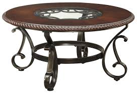 Traditional Dark Brown Norcastle Sofa Table by Ashley Norcastle Coffee Table Tags Magnificent Signature Design