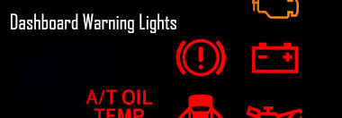 Warning and Information Light Specifications from Mazda
