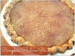 Pumpkin Pie With Pecan Praline Topping by Pumpkin Praline Pie Portlandia Pie Lady