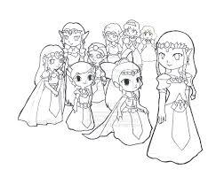 Princess Zelda Evolution Diare Icecreamlink