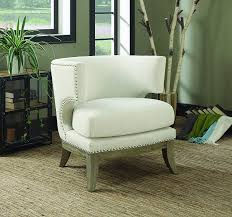 Amazon.com: Coaster Home Furnishings Accent Chair With Barrel Back ... Coaster Fine Fniture 902191 Accent Chair Lowes Canada Seating 902535 Contemporary In Linen Vinyl Black Austins Depot Dark Brown 900234 With Faux Sheepskin Living Room 300173 Aw Redwood Swivel Leopard Pattern Stargate Cinema W Nailhead Trimming 903384 Glam Scroll Armrests Highback Round Wood Feet Chairs 503253 Traditional Cottage Styled 9047 Factory Direct