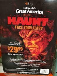 Californias Great America Halloween Haunt by California U0027s Great America 2016 Halloween Haunt