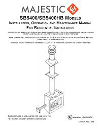 Martin SB5400SS Specifications