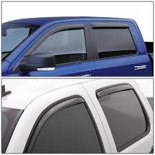 DNA Motoring: For 01-04 Tacoma 1st Gen Double Cab 4pcs Window Vent ... How To Install Rain Guards Inchannel And Stickon Weathertech Side Window Deflectors In Stock Avs Color Match Low Profile Oem Style Visors Cc Car Worx Visor For 20151617 Toyota Camry Wv Amazoncom Black Horse 140660 Smoke Guard 4 Pack Automotive Lund Intertional Products Ventvisors And 2014 Jeep Patriot Cars Sun Wind Deflector For Subaru Outback Tapeon Outsidemount Shades Front Door Best Of Where To Find Vent 2015 2016 2017 Set Of 4pcs 1418 Silverado Sierra Crew Cab Shade
