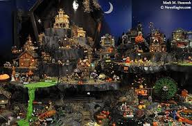 Lemax Halloween Village Displays by Holiday Joy Magazine Department 56 Halloween Village Description