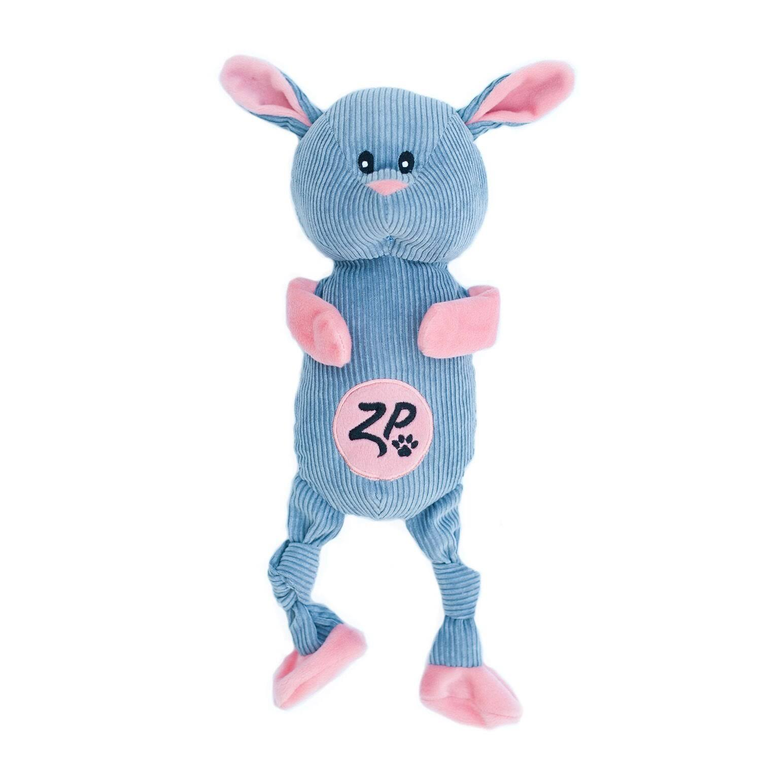 ZippyPaws Corduroy Cuddlerz Dog Toy - Bunny - One Size