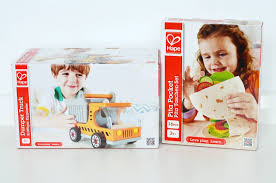 Hape Kitchen Set Uk by Review Hape Dumper Truck And Hape Pitta Pocket Lunch Love