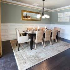 Green Dining Room With Understated Elegance
