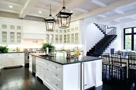 White Kitchen Cabinets With Black Countertops White Cabinets With