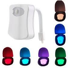 wc sitz sensor licht badezimmer led nachtlicht