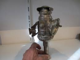 Calcium Carbide Bike Lamp by Antique Old 1914 Dietz Eureka Black Bicycle Bike Lantern Lamp Used