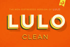 Lulo Clean Fonts Display Fonts Creative Market