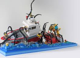 Lego Ship Sinking 2 by Hen Peril U0027s Most Interesting Flickr Photos Picssr
