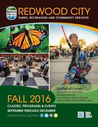 Halloween City Carpenter Rd Ann Arbor by Fall 2016 By Redwood City Parks Recreation U0026 Community Services