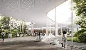 104 South Korean Architecture Salon Alper Derinbogaz Creates Songdo Library Proposal In Korea Archdaily