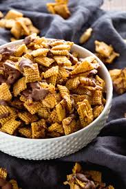 Pumpkin Spice Chex Mix by Chex Mix Recipes For Every Occasion Princess Pinky