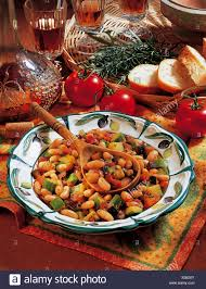 cuisine avignon white beans from avignon with eggplant zucchini tomatoes thyme