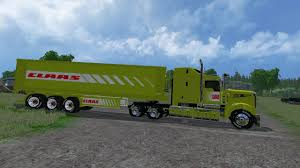 CLAAS TRUCK AND CLASS TRAILER EDIT BY EAGLE355TH V1.0 FS 15 ...