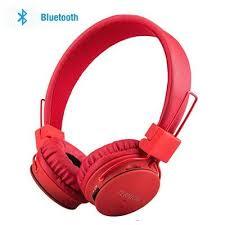 SODEE Wireless Headphones Red Wireless Headphones