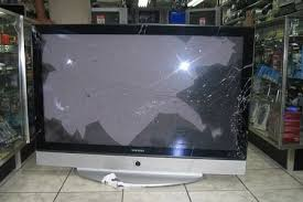 lcd tv screen cracked on its own electronics repair and