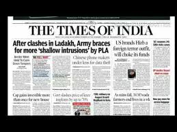The Times Of India News Today 17 8 Daily English Newspaper
